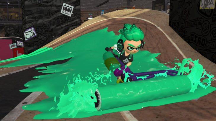 【スプラトゥーン2】イカ忍ローラー、潜伏ローラーはどうすればいいんだ