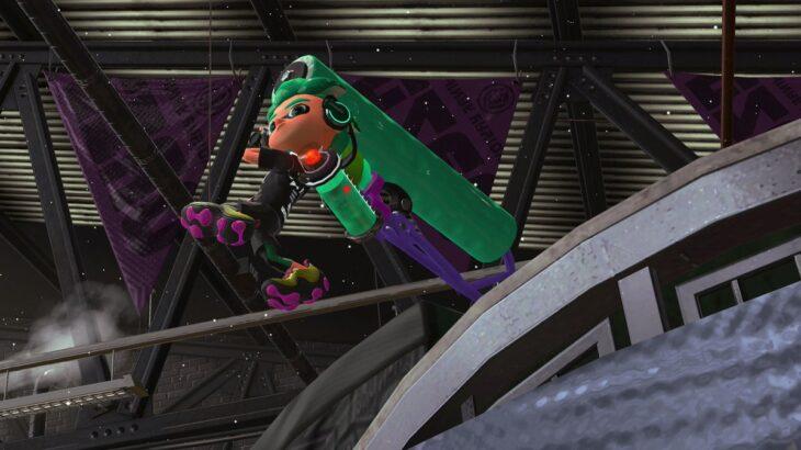 【スプラトゥーン2】ローラーの振り向き縦振りって範囲攻撃じゃないかと疑ってるわ